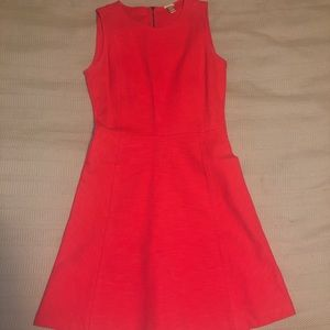 J Crew Structured Pink Dress